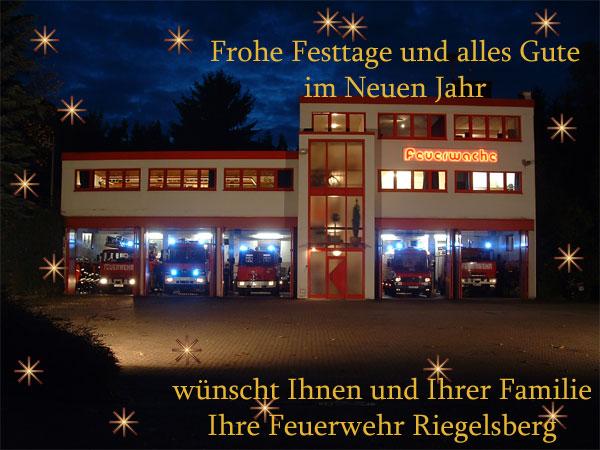 Weihnachtsgrüße Feuerwehr